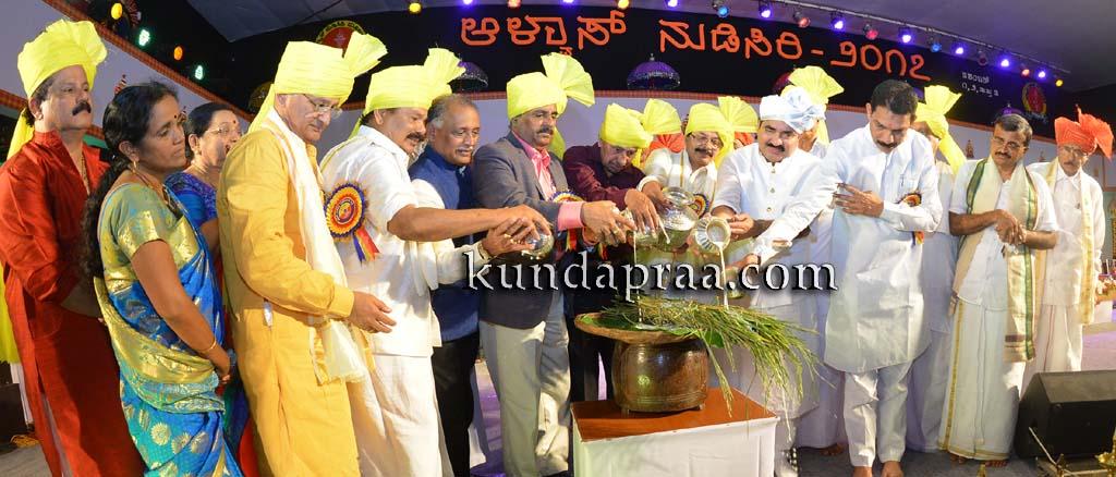 ನಾಡು ನುಡಿಯ ರಾಷ್ಟ್ರೀಯ ಸಮ್ಮೇಳನ: ೧೪ನೇ ವರ್ಷದ ಆಳ್ವಾಸ್ ನುಡಿಸಿರಿಗೆ ಚಾಲನೆ
