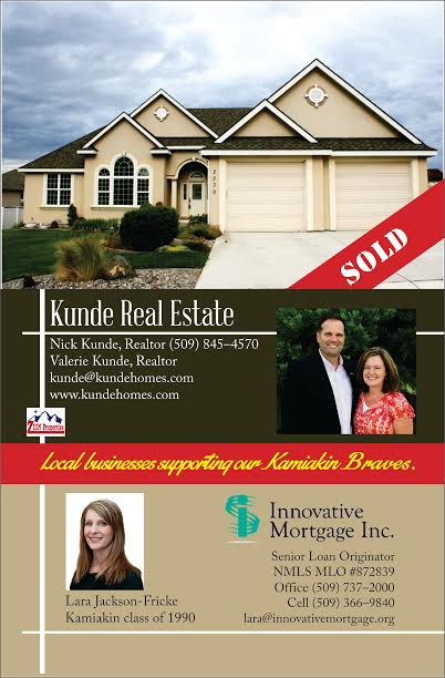Kunde Real Estate Kamiakin football a