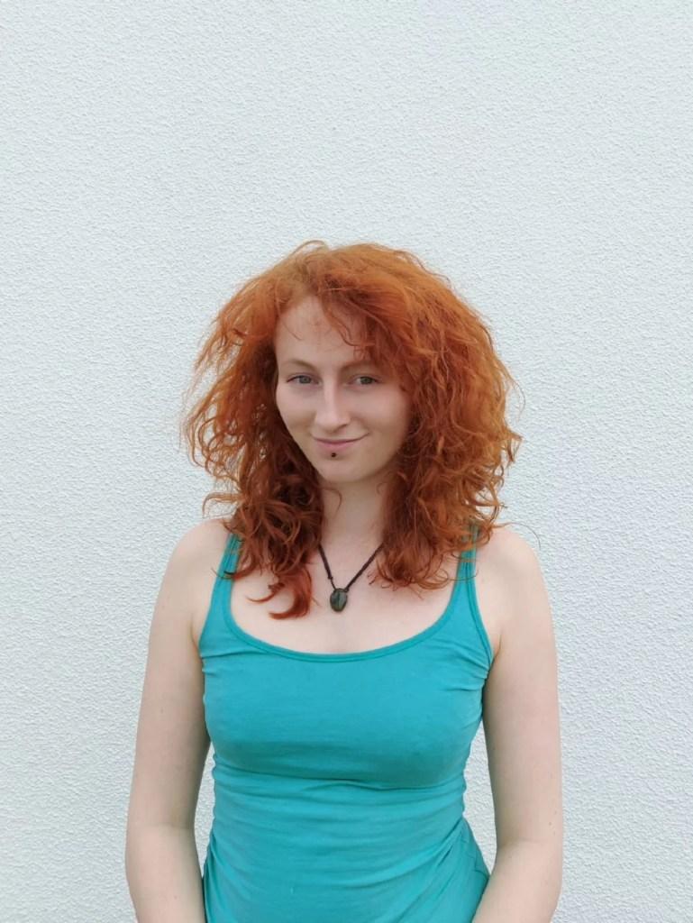 Unsere Kune-Autorin Sina Bahlke.