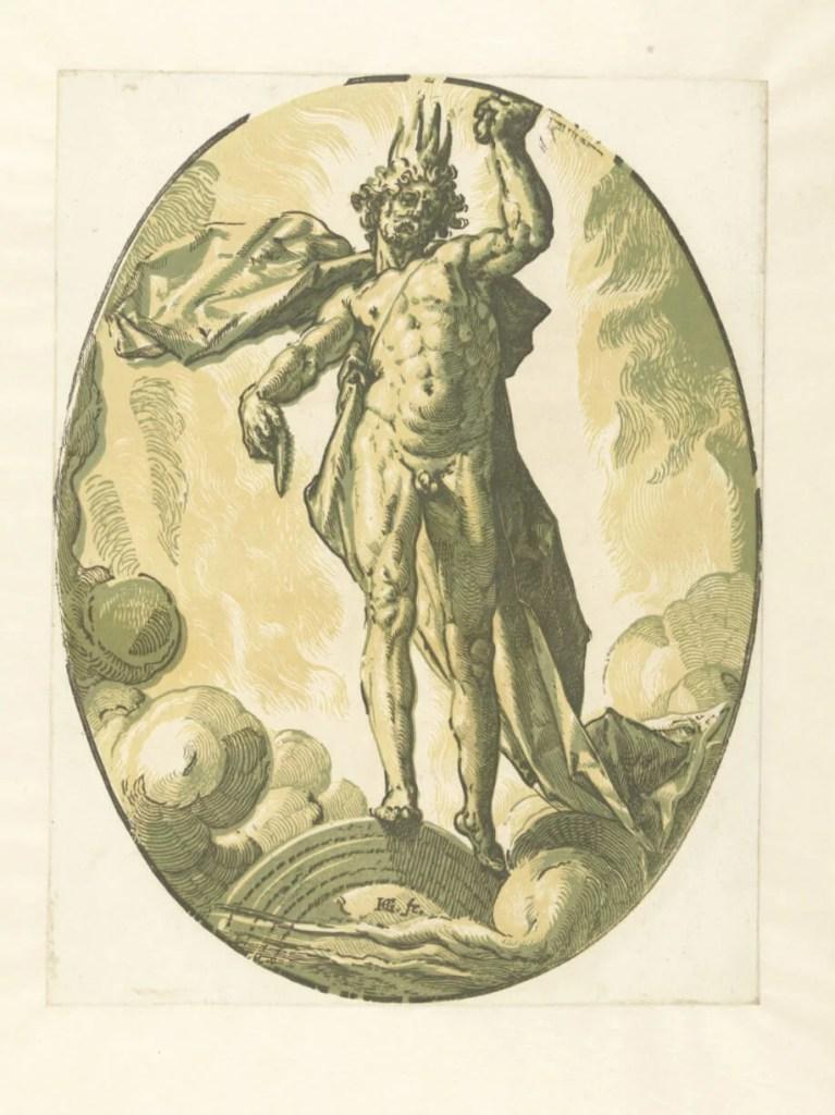 Hendrick Goltzius. Helios (Götter und Göttinnen), 1588–1590.