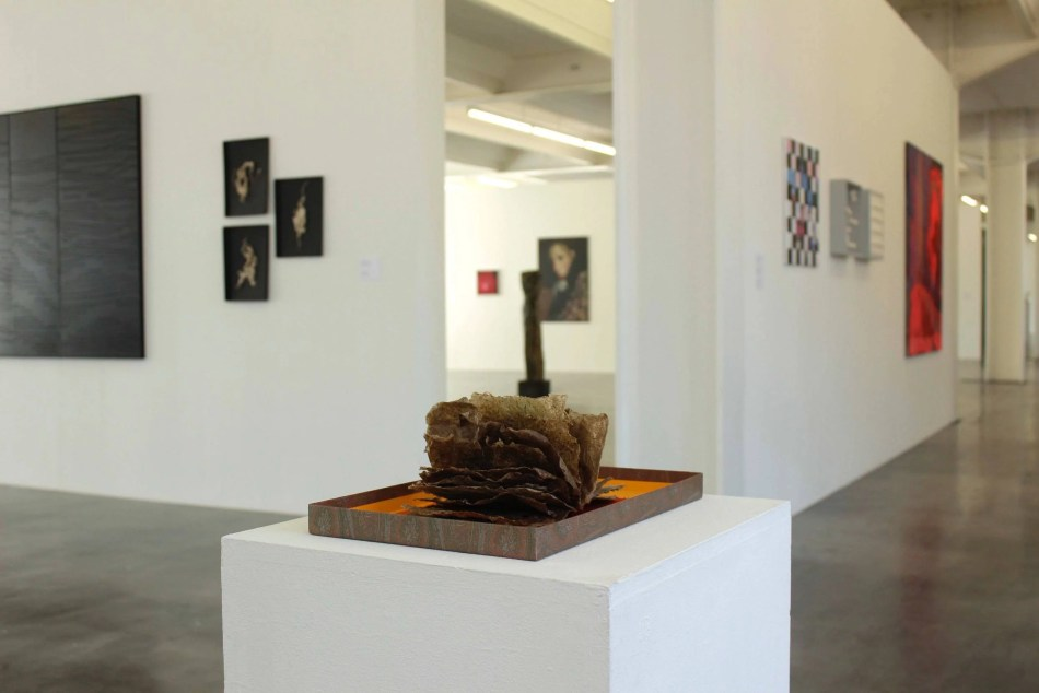 Ausstellungsansicht. Herstory – Wie wir wurden, was wir sind. 2021 im Kunstverein Reutlingen. Foto: Julia Berghoff.