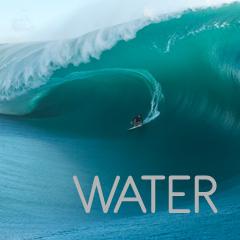 WATER - persona surfeando