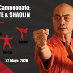 2do Campeonato Shaolin de Artes Marciales Tradicionales 2020