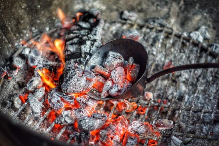 Flamed Halibut