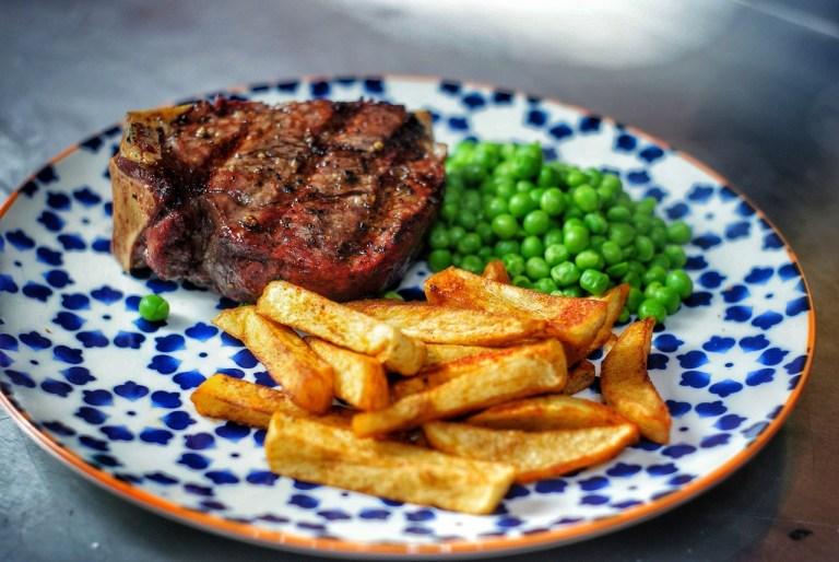 Fillet steak on the bone