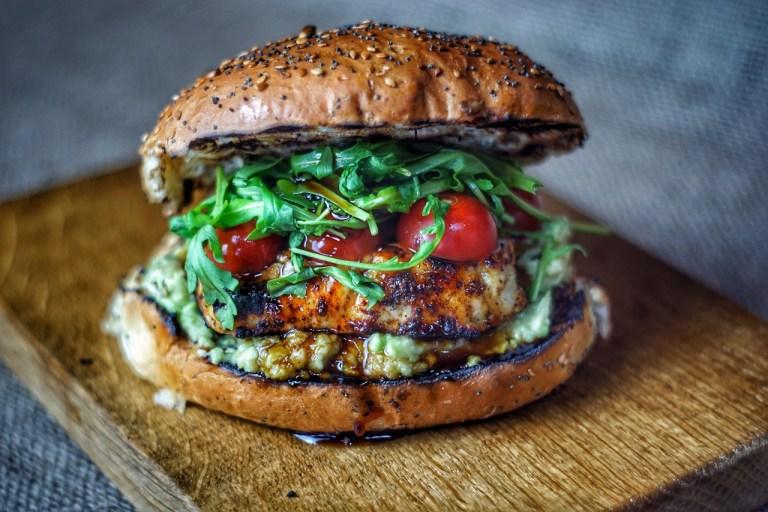 Grilled Halloumi Burger