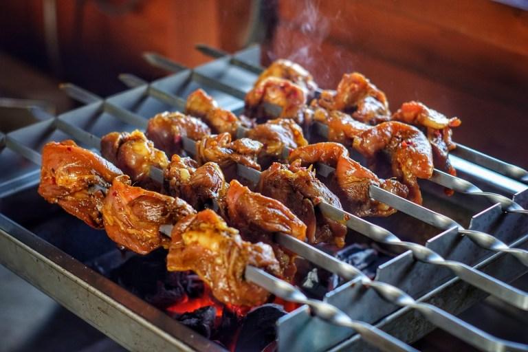 Dutch West Indian Chicken Kebabs