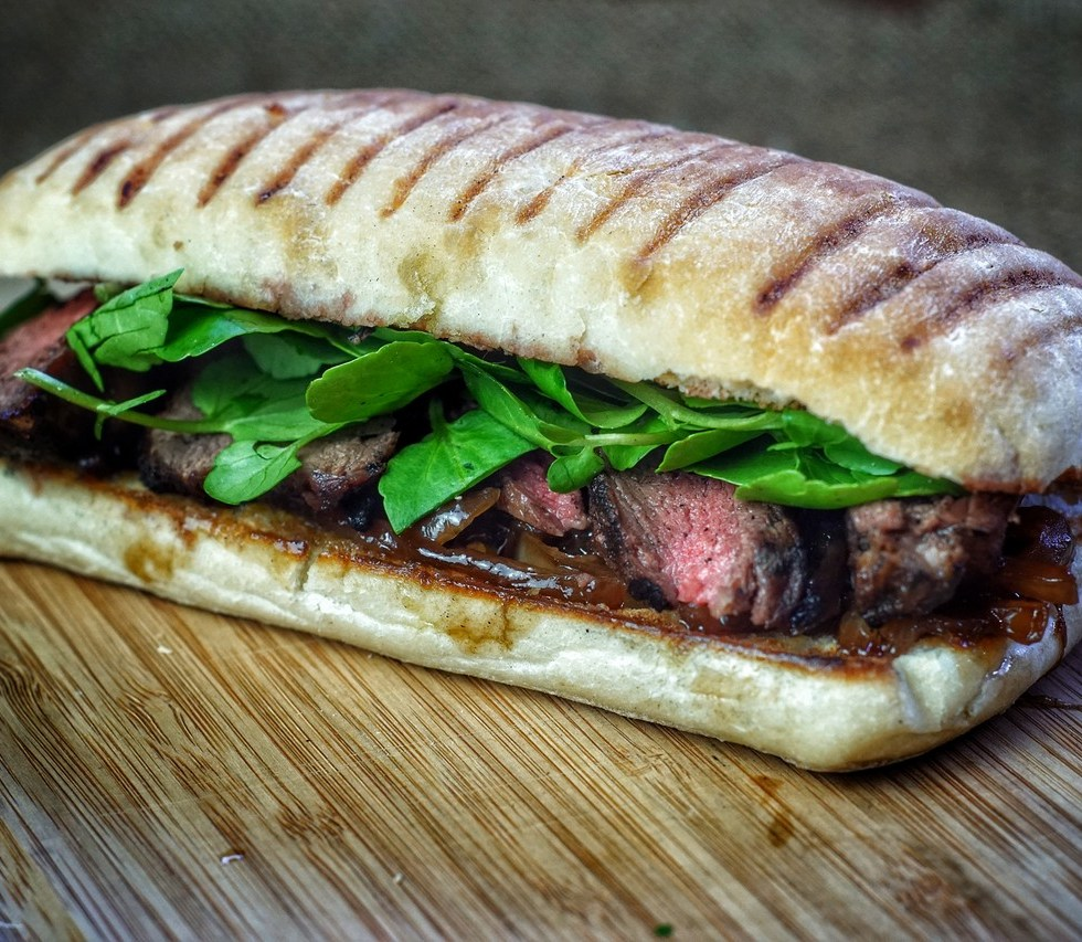 Rump Steak Panini