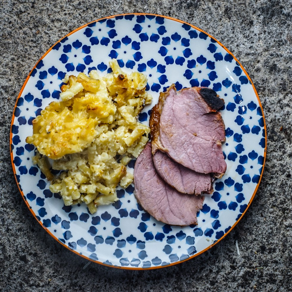 Gammon mac n cheese
