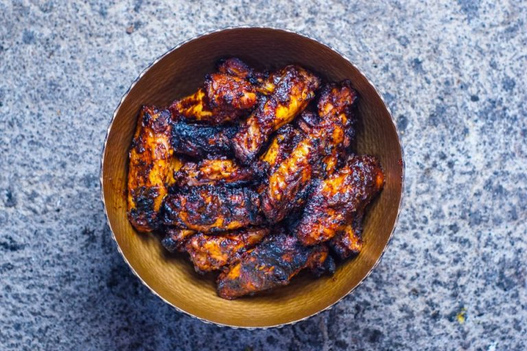 Sesame Hoisin Chicken Wings