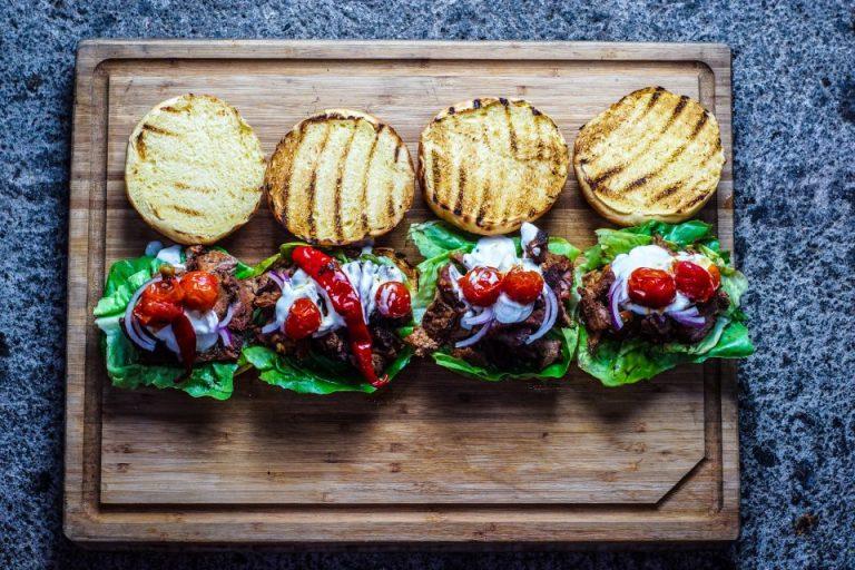 Lamb Shawarma Burger