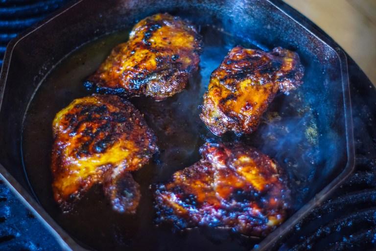 Smoked Chicken Thighs