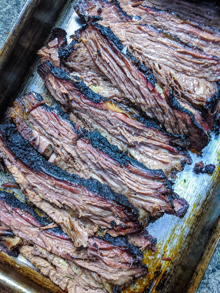Brisket hot and fast