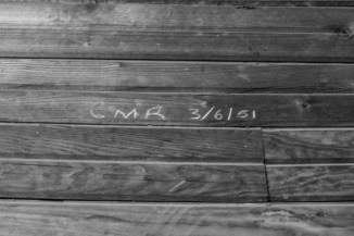 I dont know who CMR was, but he was there....a long time ago.