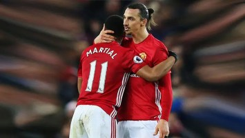 zlatan Ibrahimovic dan Anthony Martial