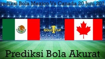 Prediksi Bola Mexico Vs Canada 20 Juni 2019