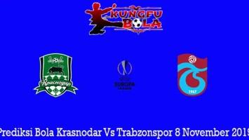 Prediksi Bola Krasnodar Vs Trabzonspor 8 November 2019