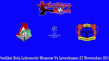 Prediksi Bola Lokomotiv Moscow Vs Leverkusen 27 November 2019