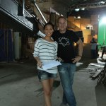 Backstage with Muriel Hoffman on 'Borderland'