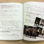 Bruce's extensive handwritten notes