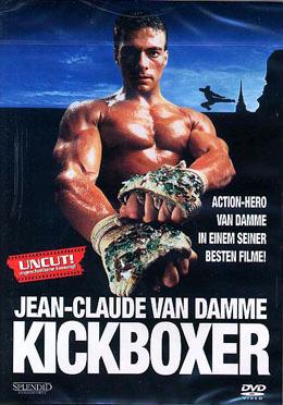 Kickboxer DVD cover