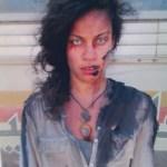 Lauren plays zombie in World War Z!
