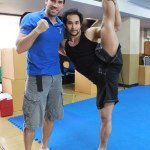 Tim Man and Scott Adkins