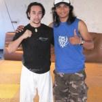 Tim Man with Tony Jaa