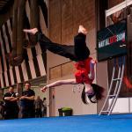 Sian Edmunds (aerial move)