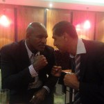 The Evander Holyfield-Kash The Flash -STAREDOWN!