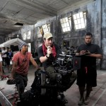 On the set of The Raid 2