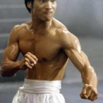 Gearing up for a big fight in Dragon The Bruce Lee Story