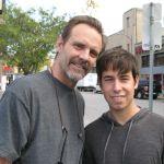 Cody Hackman alongside Michael Biehn