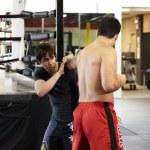 Cody perfects the techniques of Shotokan with Lyoto Machida!