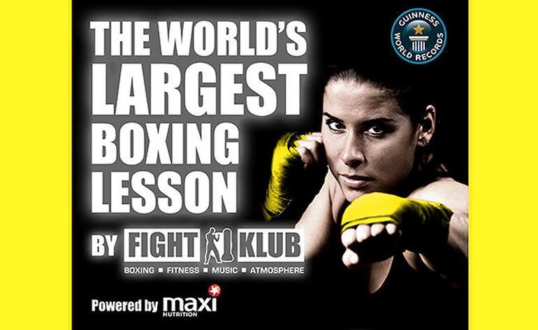 World's Largest Boxing Class at SENI 2014!