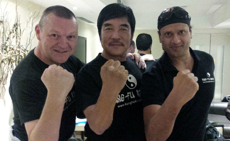 Meeting a legend – Hwang Jang-lee