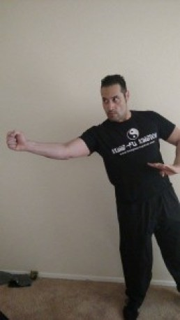 A straight lead from Jeet Kune Do