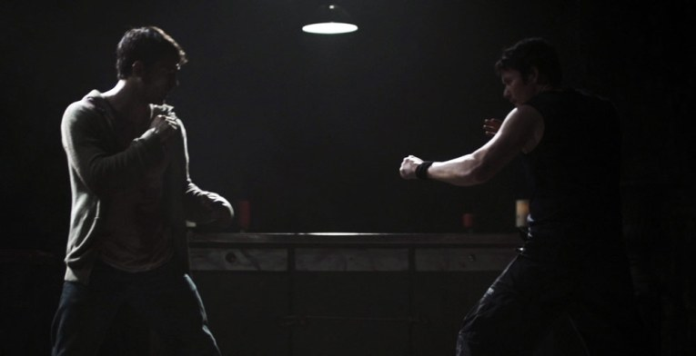 Eric takes on former Power Ranger Johnny Yong Bosch in Death Grip