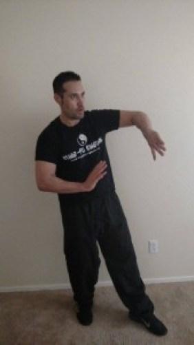 Ralph demonstrates some Wing Chun