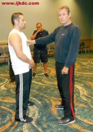 Ralph with one of Bruce Lee's first JKD students Sifu Patrick Strong