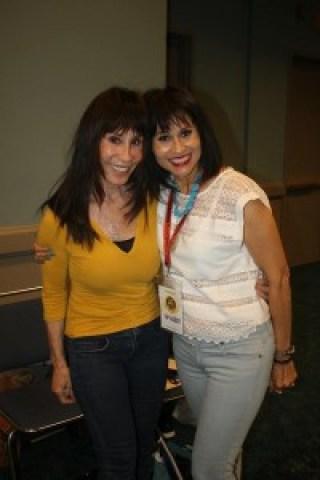 Malia Bernal shares a smile with Benny The Jet's wife Sara Urquidez