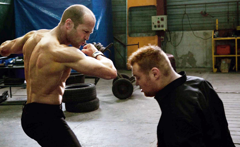 Every Jason Statham punch in four minutes!