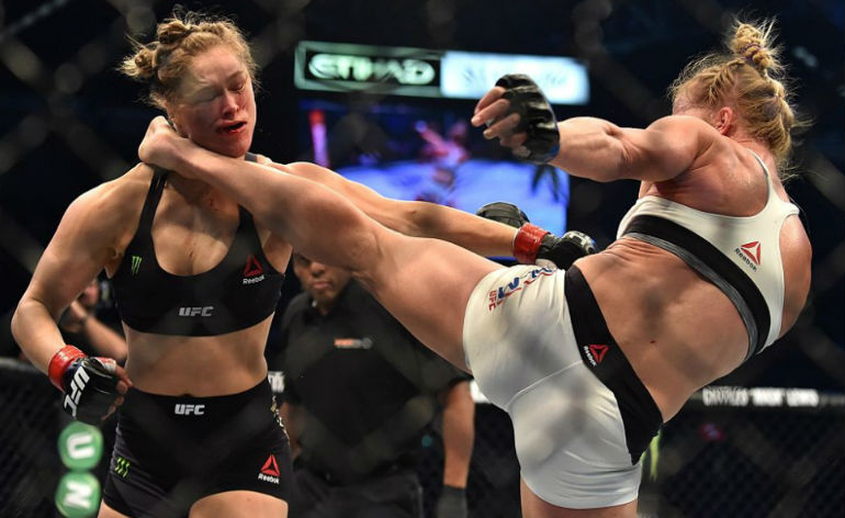 Holly Holm victorious at UFC193!