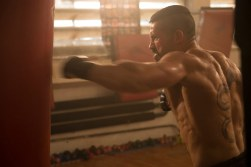 Boyka trains for the upcoming battle
