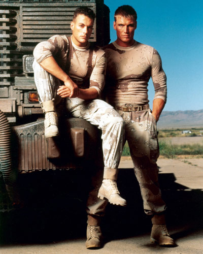 Dolph Lundgren & Jean-Claude Van Damme both worked with Vic on the original Universal Soldier