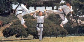 Well trained students of TKD