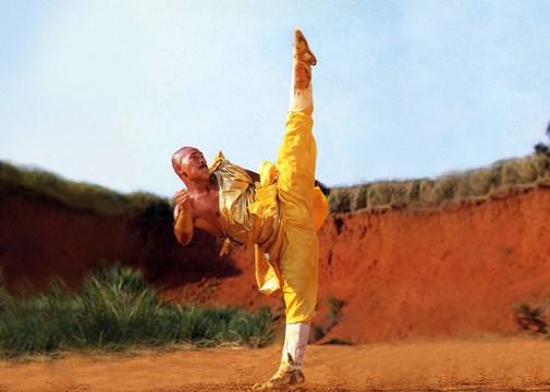Chang Shan classic high split kick