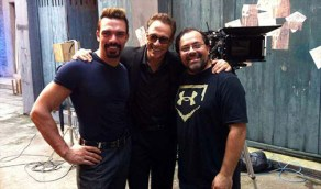 On the Pound of Flesh set with Jean-Claude and Darren Shahlavi (RIP)