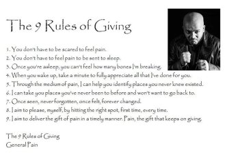 The 9 rules of giving