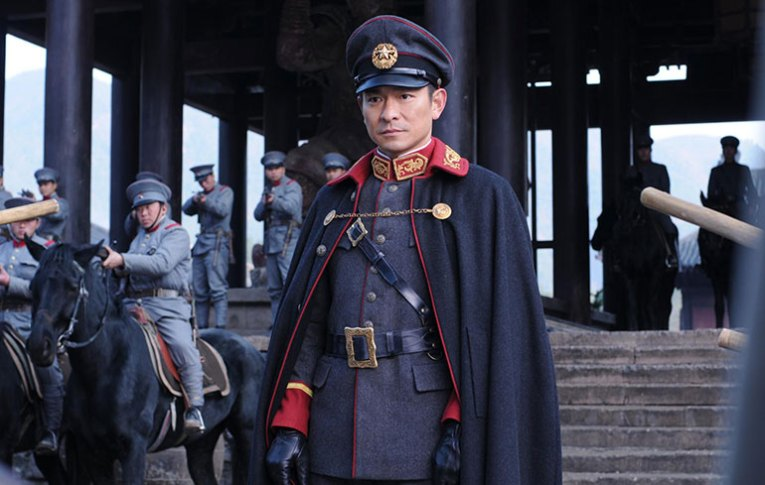 Andy Lau looking smart in Shaolin
